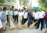 Swachh Bharat Abhiyan at MMTC Colony on 2/10/2015 (pic1)