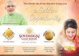 This Diwali, the Prime Minister brings you a  Golden Opportunity