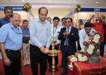 CMD Shri Ved Prakash Lighting the Inaugural Lamp at MMTC's Festival of Gold 2019